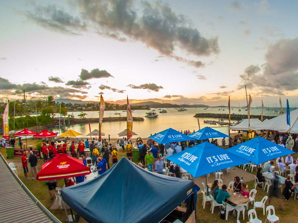 Airlie Festival of Sailing Sunset
