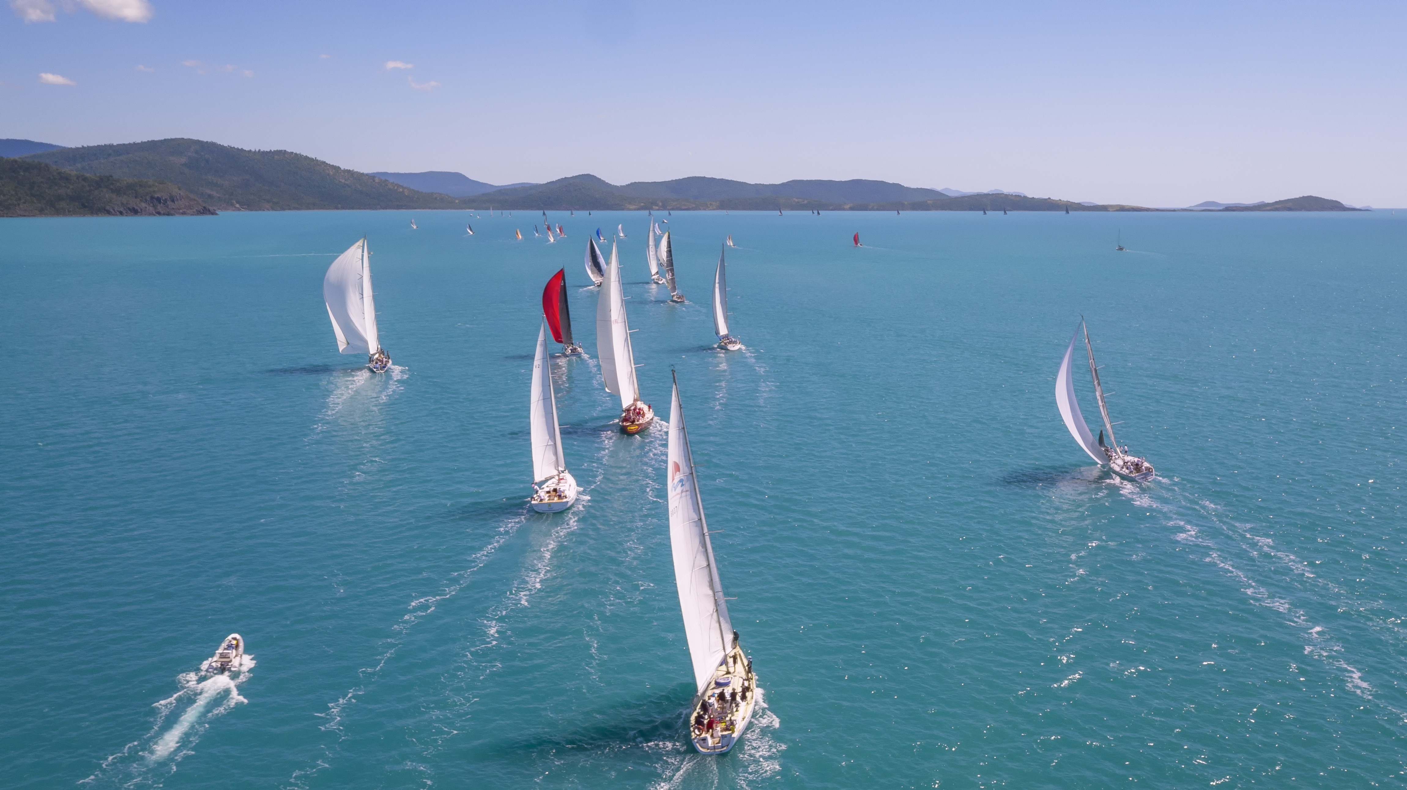 On the water at Airlie Beach Race Week - Photo: Wasp NQ