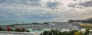 Abell Point Marina where the bulk of the fleet is staying - Photo: Vampp Photography