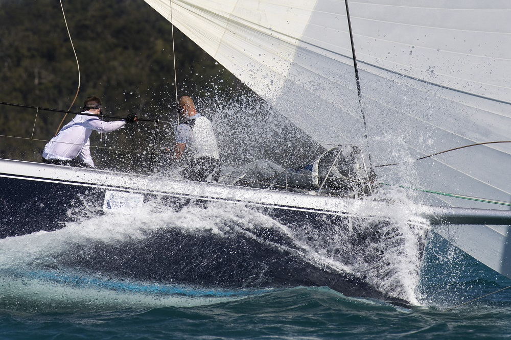 Experiencing the full range of wind at Airlie Beach Race Week - Photo: Andrea Francolini