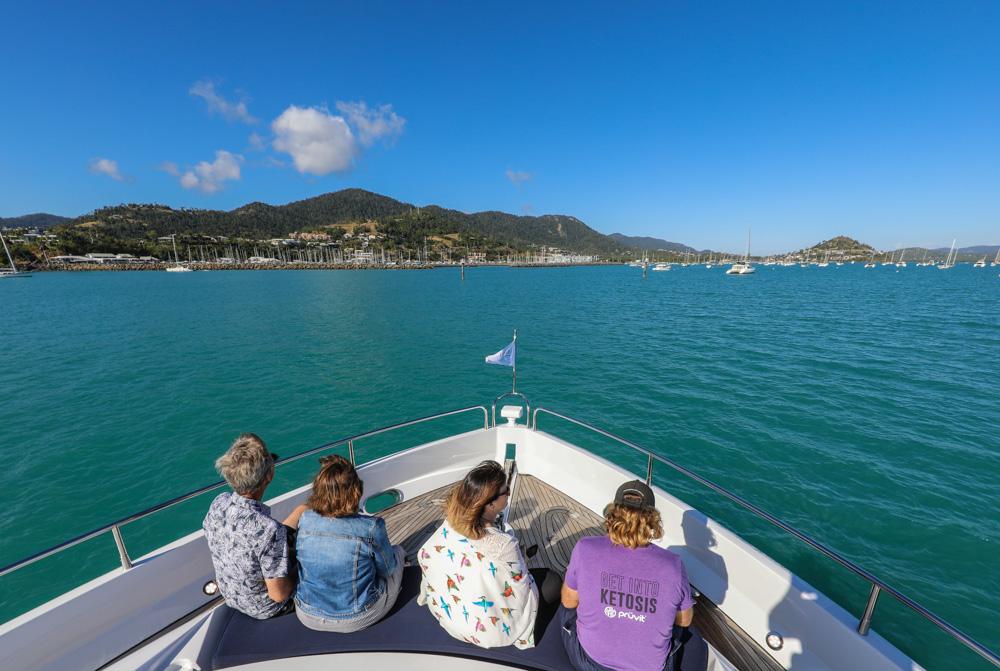 On board Alani - Photo: Andrew Pattinson/ Vampp Photography
