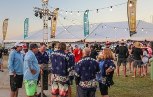 Airlie Beach Race Week onshore parties at the Whitsunday Sailing Club