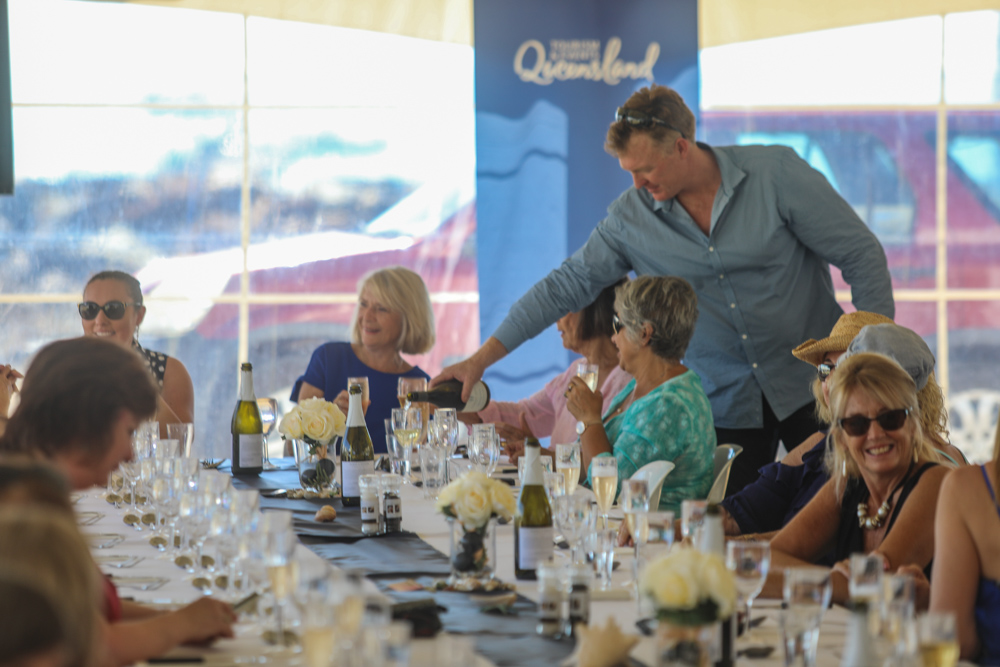 The Race Week Long Lunch at the Whitsunday Sailing Club will be one of the culinary highlights of the year - Photo: Andrew Pattinson/Vampp Photography