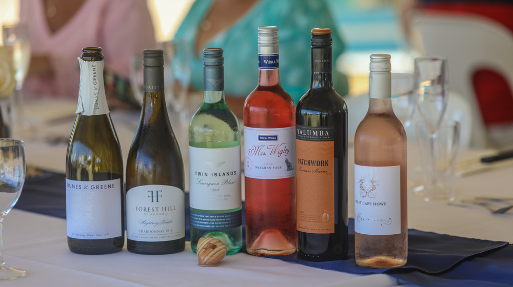 Over the weekend there will be wine tastings and a long lunch on the lawn at the Whitsunday Sailing Club - Photo: Andrew Pattinson/Vampp Photography