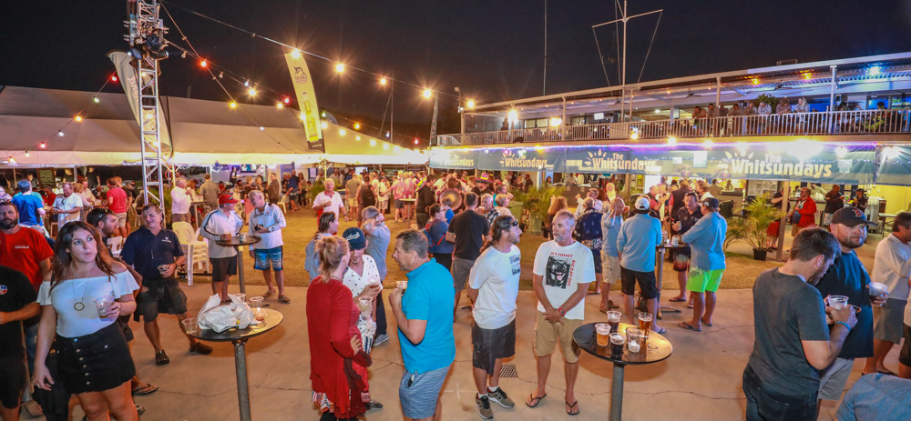 Regatta HQ comes alive each afternoon and evening with a raft of onshore activities, entertainment and events - Photo: Andrew Pattinson/Vampp Photography