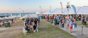 Food stalls, Whitsunday Sailing Club, Airlie Beach Race Week