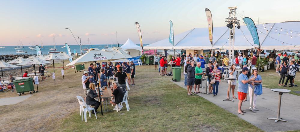 Food stalls, Whitsunday Sailing Club, Airlie Beach Race Week