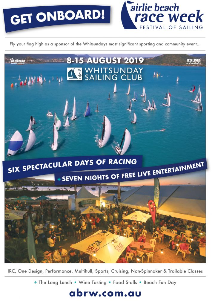 A snapshot of the Airlie Beach Race Week 2019 Sponsorship Proposal