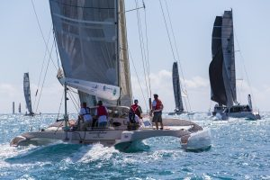 Overdrive sailing at Airlie Beach Race Week - Photo Andrea Francolini