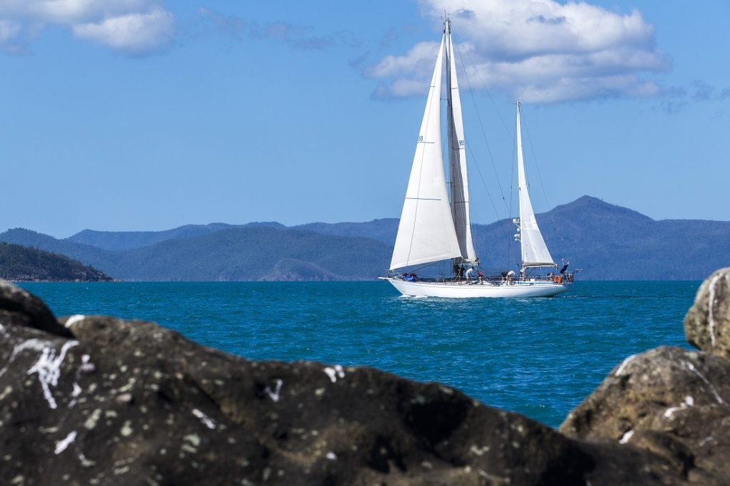 'Eve' sailing at Airlie Beach Race Week 2017. Photo by Andrea Francolini