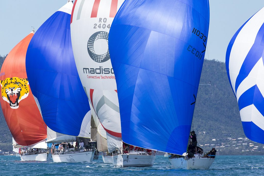Kerisma on the course in Pioneer Bay at Airlie Beach Race Week - Photo: Andrea Francolini