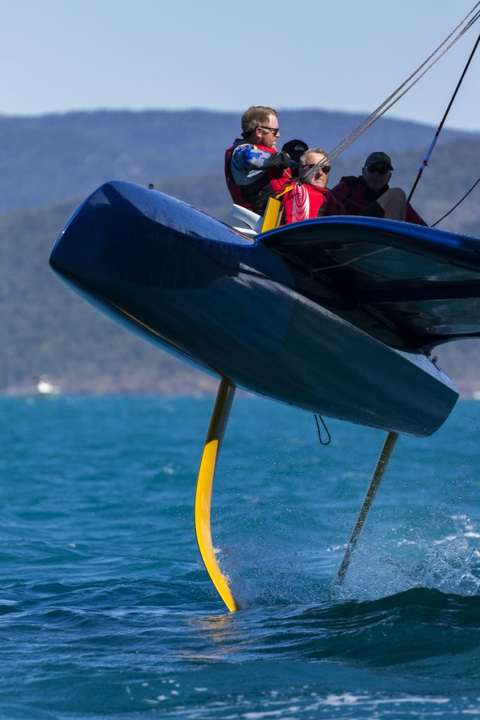 MAD MAX racing at Airlie Beach Race Week - Photo: Andrea Francolini