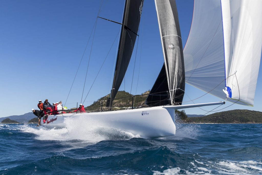 TEAM HOLLYWOOD racing at Airlie Beach Race Week - Photo: Andrea Francolini