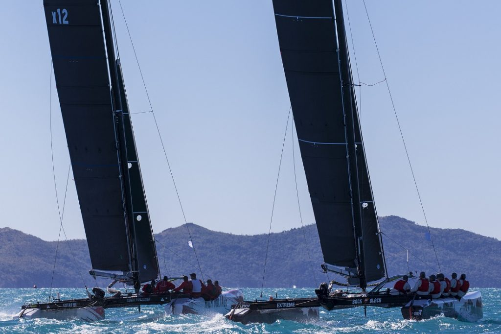 Back in Black and High Voltage at Airlie Beach Race Week 2019 - Photo: Andrea Francolini