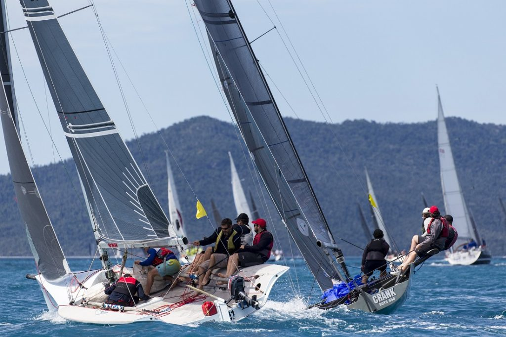 Vivace and Crank at Airlie Beach Race Week 2019 - Photo: Andrea Francolini