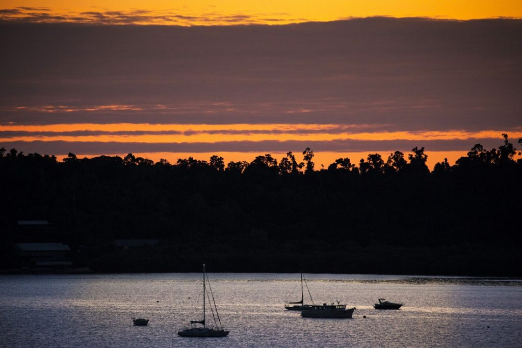 Sunrise at Airlie Beach Race Week - Photo: Andrea Francolini