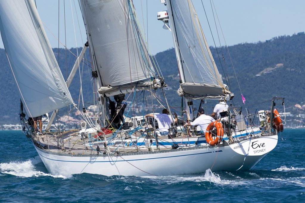 Eve sailing at Airlie Beach Race Week - Photo: Andrea Francolini