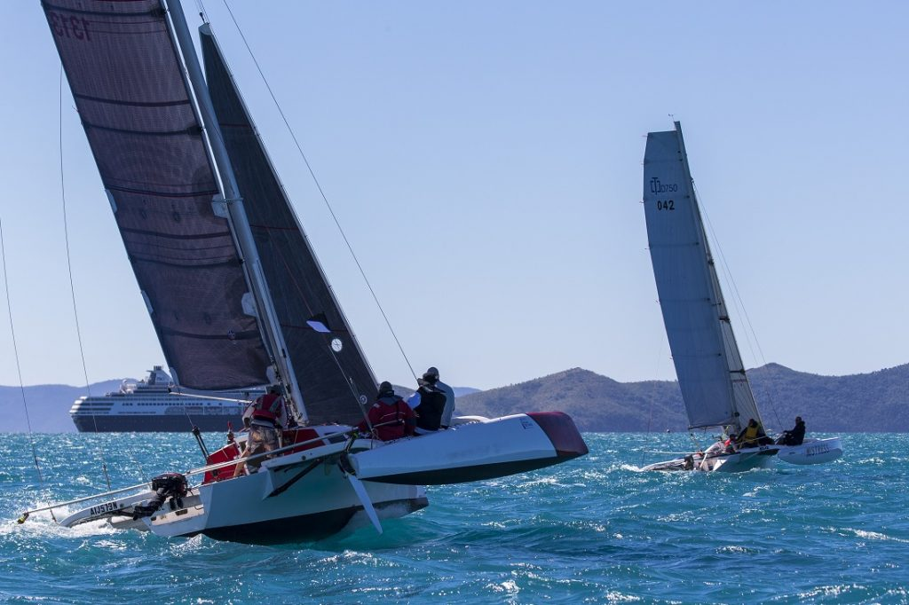 Evil Gnome won Division 2 of the Australian Multihull Championships sailed at Airlie Beach Race Week - Photo: Andrea Francolini