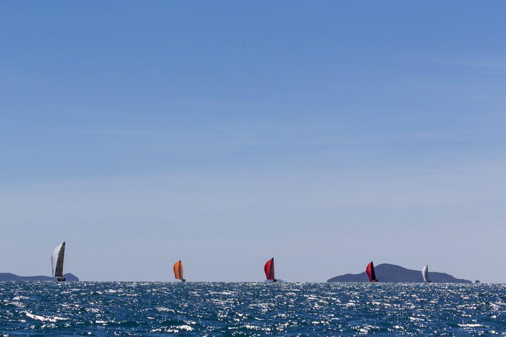 Sailing at Airlie Beach Race Week 2019 - Photo: Andrea Francolini