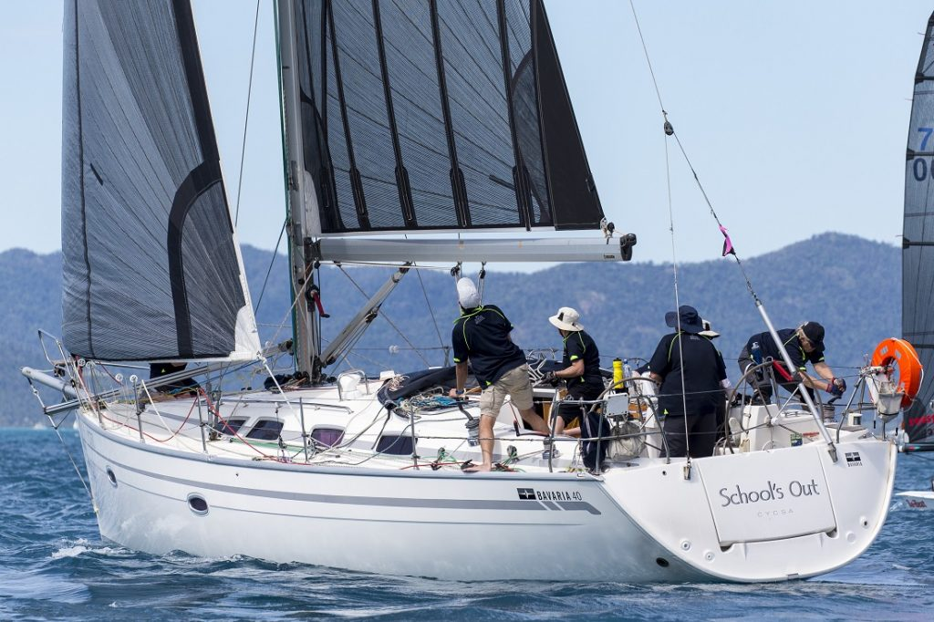School's Out has come a long way by water to compete at Airlie Beach Race Week - Photo: Andrea Francolini