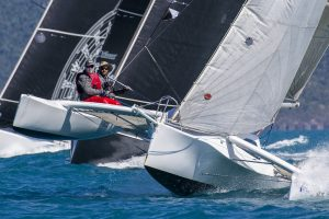 SAILING - Airlie Beach Race Week 2019 - Airlie Beach, QLD 11/08/2019 (Photo by Andrea Francolini) THE HULLY TRINITY