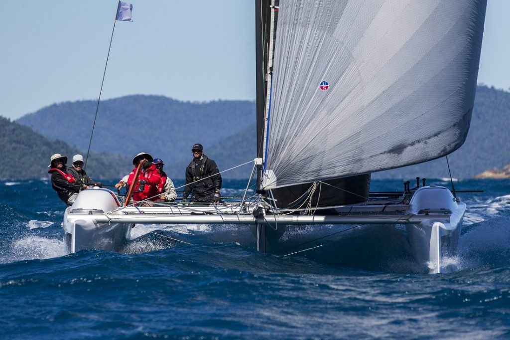 There's no slowing Ullman Sails down - Photo: Andrea Francolini