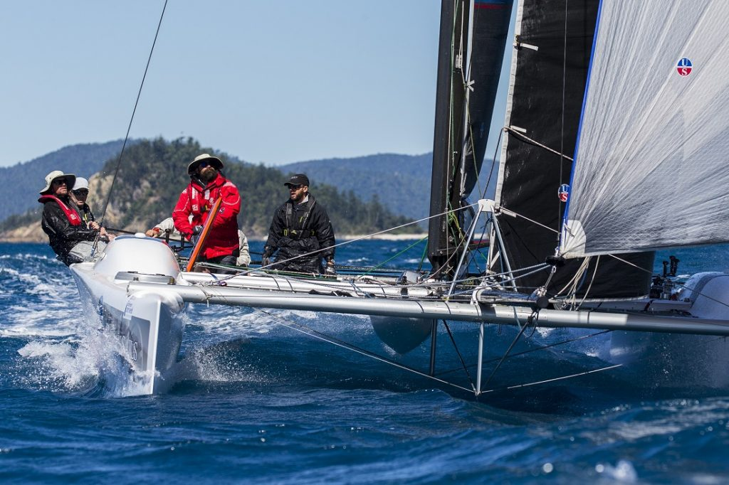 Ullman Sails on the course at Airlie Beach Race Week - Photo: Andrea Francolini