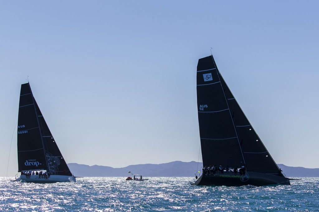Zen and Hooligan battling it out at Airlie Beach Race Week - Photo: Andrea Francolini